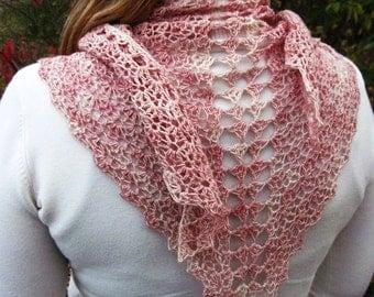 Aurelie Shawl ~ A Crochet Pattern