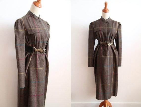 SALE 40s Wool Dress