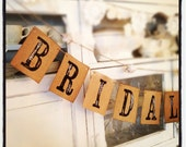 Bridal Shower BANNER - Bridal Shower - Wedding - Garland - French Market - xo, j&L (GRLD 103)