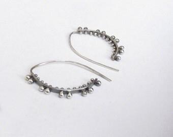 Angel Wings,  Sterling Silver Earrings