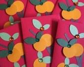 Set of (6) - Tangerine Tree Red Envelopes