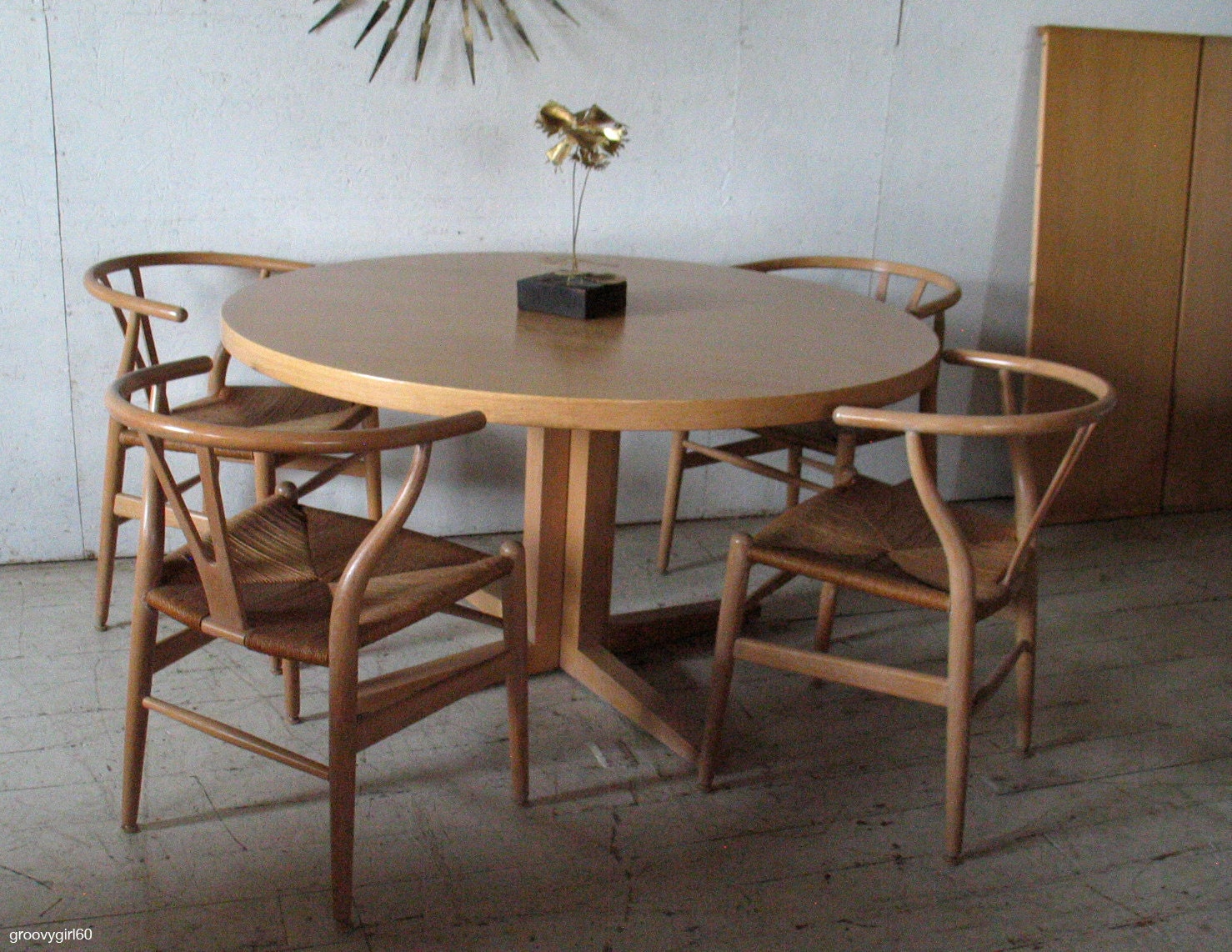 Modern Round Dining Room Tables awesome danish dining room set contemporary - room design ideas