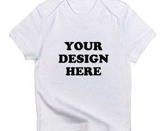 Custom Tee Shirt - Infant - Short Sleeve Cotton Tee