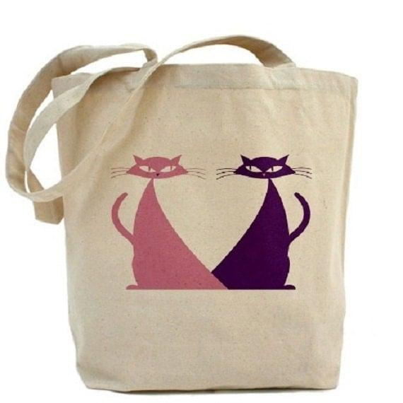CATS Tote Bag - Cotton Canvas Tote Bag