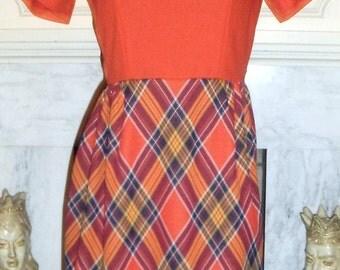Groovy Toni Todd 1970's Dress