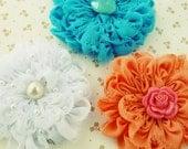 Fabric Flower Tutorial Angie Chiffon PDF - photo tutorial baby prop flower accessories ebook