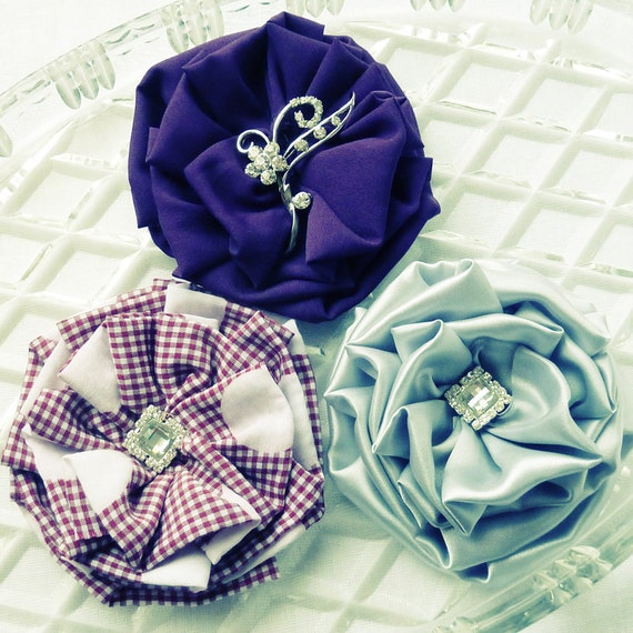 Items Similar To Photo Prop Fabric Flower Tutorial