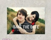 """save the date photo card - """"Picturesque"""""""