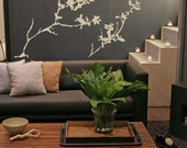 Wall Decal Tree Branches Flowers Nature Botanical Organic