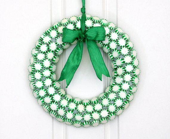 Christmas Candy Wreath