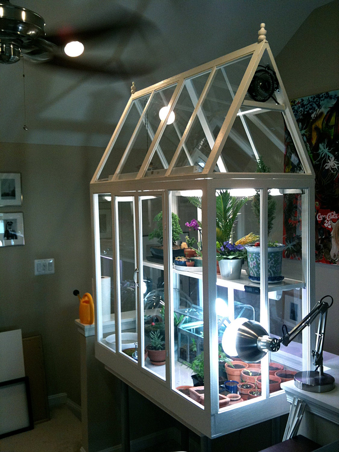 Incredible custom indoor greenhouse one of a kind by for Green home building kits