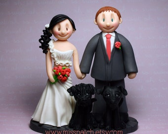 DEPOSIT - Custom Made to Order Wedding Cake Topper