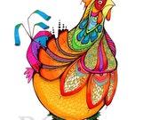 Chicken Whipple - Barnyard Queen Hen