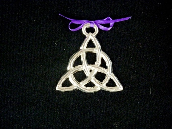 Celtic Knot Pewter Ornament