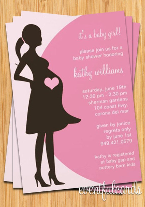 Cute Baby Shower Invitations For Girls for great invitation template