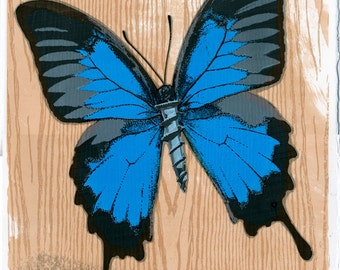 SALE - Butterfly with Screw Art Print
