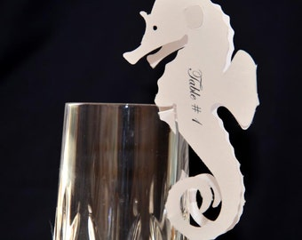 Dual Seahorse Escort or Place Cards