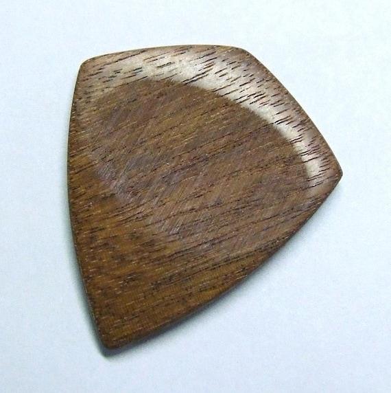 Wood Guitar Pick - Handmade Exotic Santos Mahogany  Premium Guitar Pick