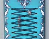 French Chic Jewelry Display in Turquoise - Paris Decor, Bridal Shower