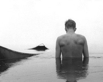 To Live for the Lake, self portrait
