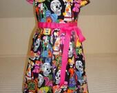 Day of the Dead -Dia De Los Muertos -Los Novios Girls Fiesta Dress - Size 2