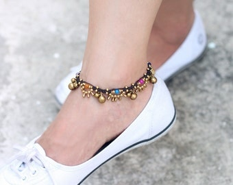 Lace Water Drop Candy Anklet