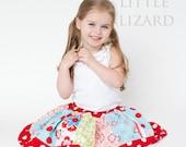 Girls Skirt Pattern, Easy Skirt Pattern, Twirl Skirt Pattern, Girls Twirl Skirt Pattern-  3m - 10, Little Girl Twirl