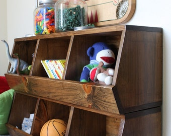 make your own toy organizer