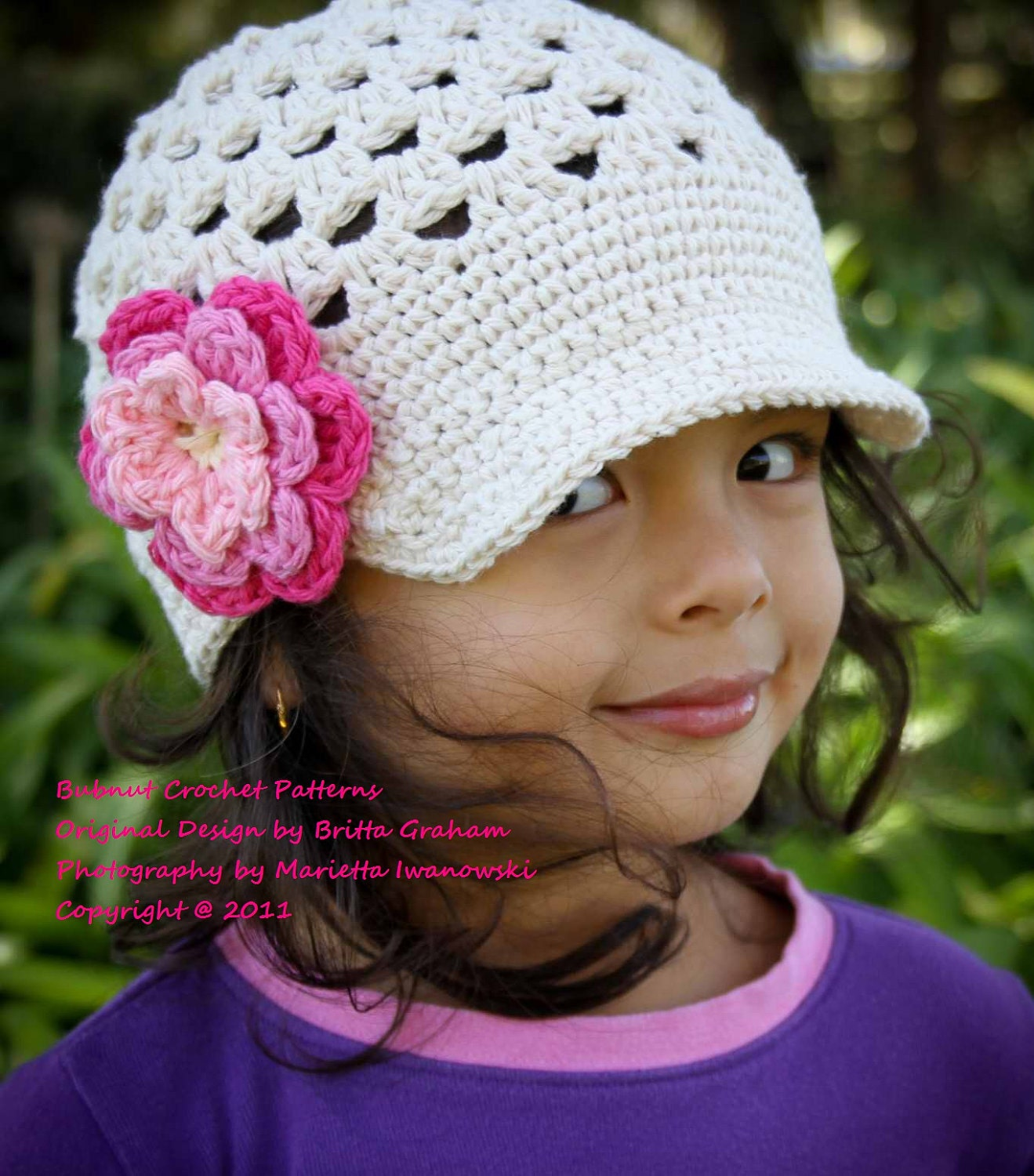 Free Crochet Pattern Toddler Newsboy Cap : The Original Open Stitch Newsboy Hat Crochet Pattern No.301