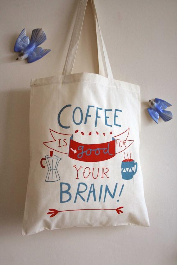 SAVE 50% Coffee is Good tote bag