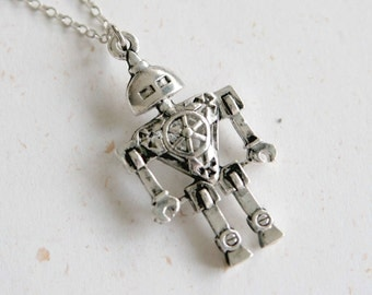 Automatic Repair - Robot Necklace (N248)