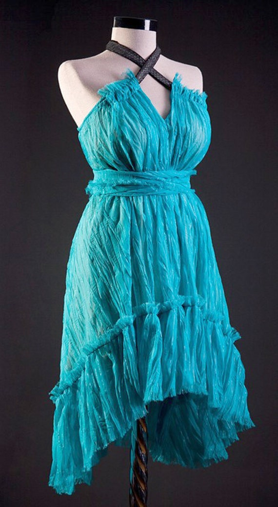 Fresh turquoise DRESS DISCOUNTED