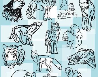 Animals Vol. 2B Vector Clipart