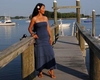 Tiered Dress (organic cotton and hemp organic cotton)