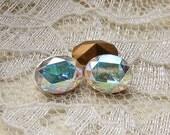 10x8 Swarovski Crystal Clear AB Oval Loose Rhinestones