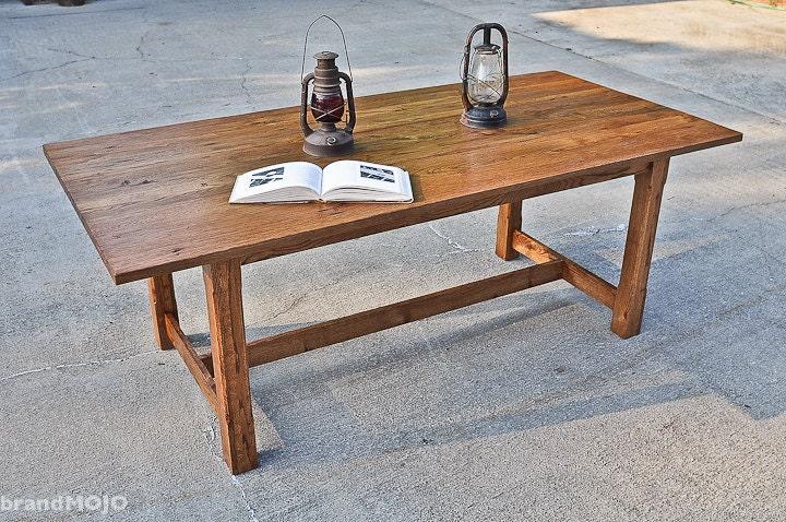zoom. Reclaimed Wood Dining Table Carolina Harvest Farm Table