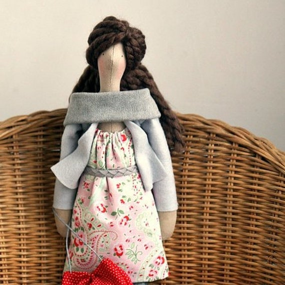 Custom OOAK Fabric Doll