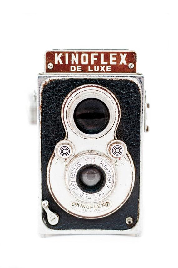Retro Camera Photography Decor Hong Kong Rare Medium Format
