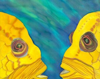 The  Conversation --tropical fish decor