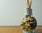 Repurposed Lightbulb Vase / Toothpick Holder (mini lightbulb)