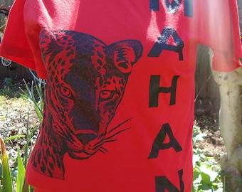 vintage tshirt shirt MAHAN tiger Small t S Korea