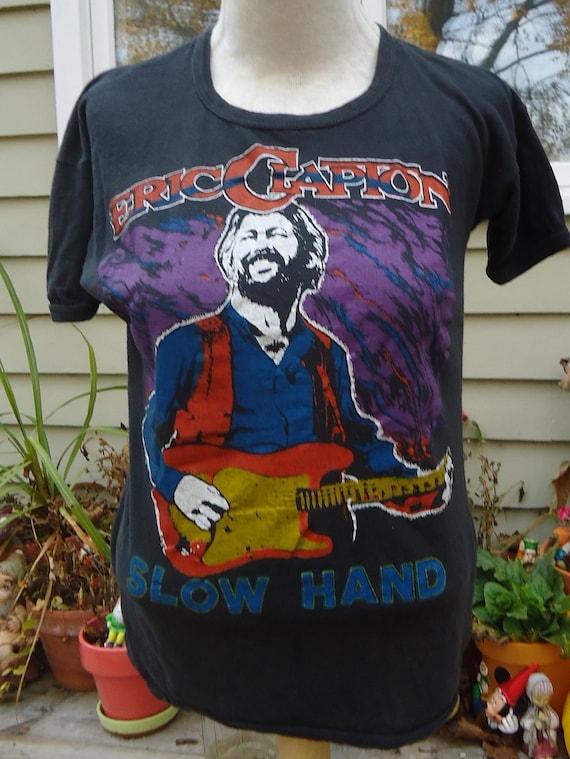 vintage tshirt ERIC CLAPTON Slow Hand 1978 TOUR