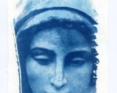 Cyanotype Mary Mother of God