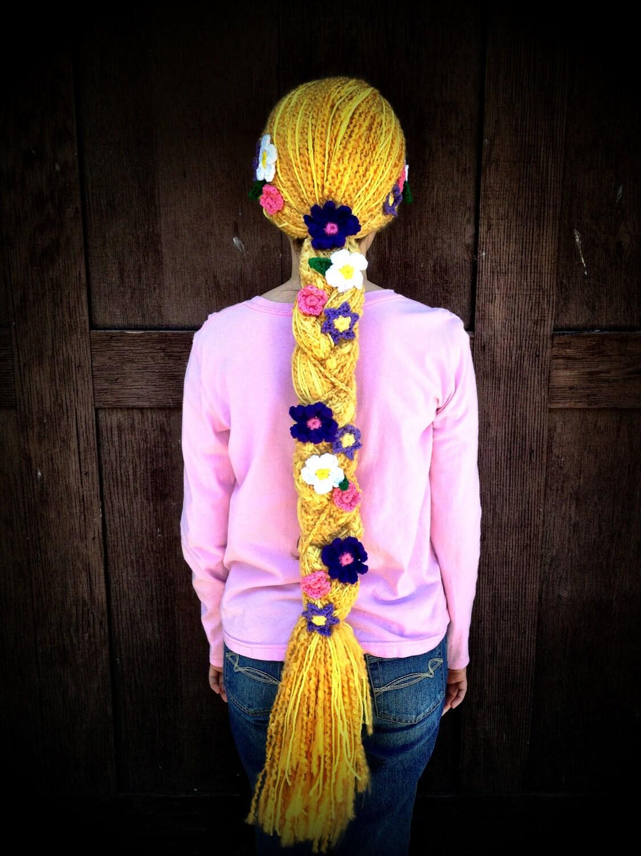 Rapunzel Inspired Long Braided Crochet Hair by ...