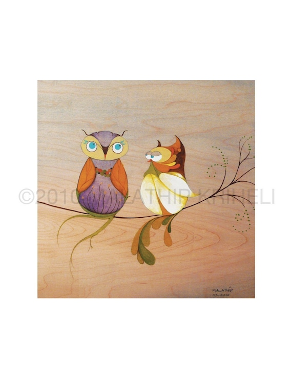 Do you think Spring is here-Owls
