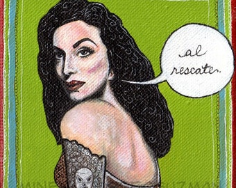 Maria Felix Mexican Pop Art Print