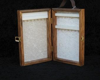 portable display case jewelry display case jewelry display mini custom order