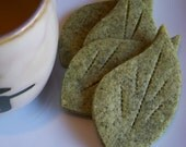 Citrus Scented Green Tea Sables Cookies