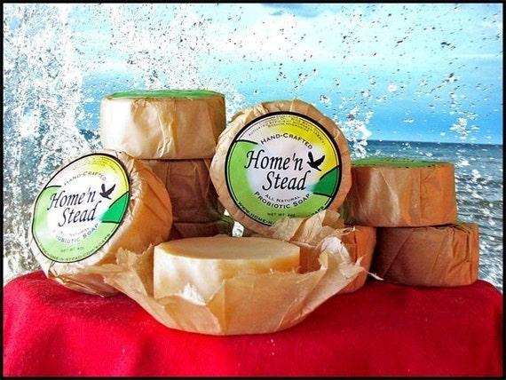 Probiotic Soap 12 Bars All-Natural