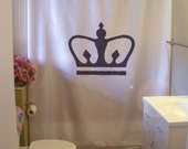 royal crown shower curtain king queen prince princess royalty corona bathroom decor kids bath curtains custom size long wide waterproof